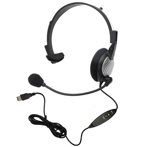 Andrea C1-1022300-50 (NC-181VM USB) High Quality Digital Monaural Headset